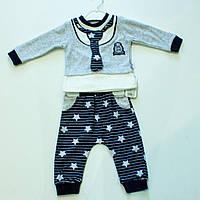 Велюровый   ясельный  костюмчик  для мальчика  на  рост 62. 68 .74.80  см