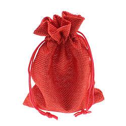 """Мешочек подарочный тканевый """" 10 Х 13,5 см"""""""