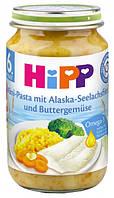 Пюре Хипп (Hipp) овощи с морской рыбой (от 8 мес), 220г
