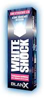Зубная паста BLANX - WHITE SHOCK з LED светом ЕЖЕДНЕВНОЕ ЛЕЧЕНИЕ И Отбеливание  50 мл
