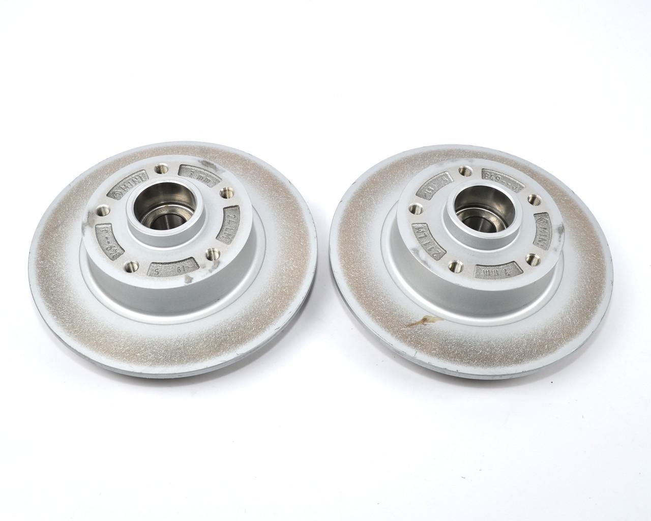 Тормозной диск задний с подшипником 260mm. (к-т 2шт) на Renault Clio IV (RS) - Renault (Оригинал) - 432007556R