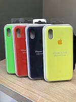 Силиконовый чехол Apple Silicone Case original X/Xs
