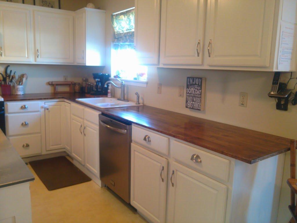 Деревянная столешница на кухню