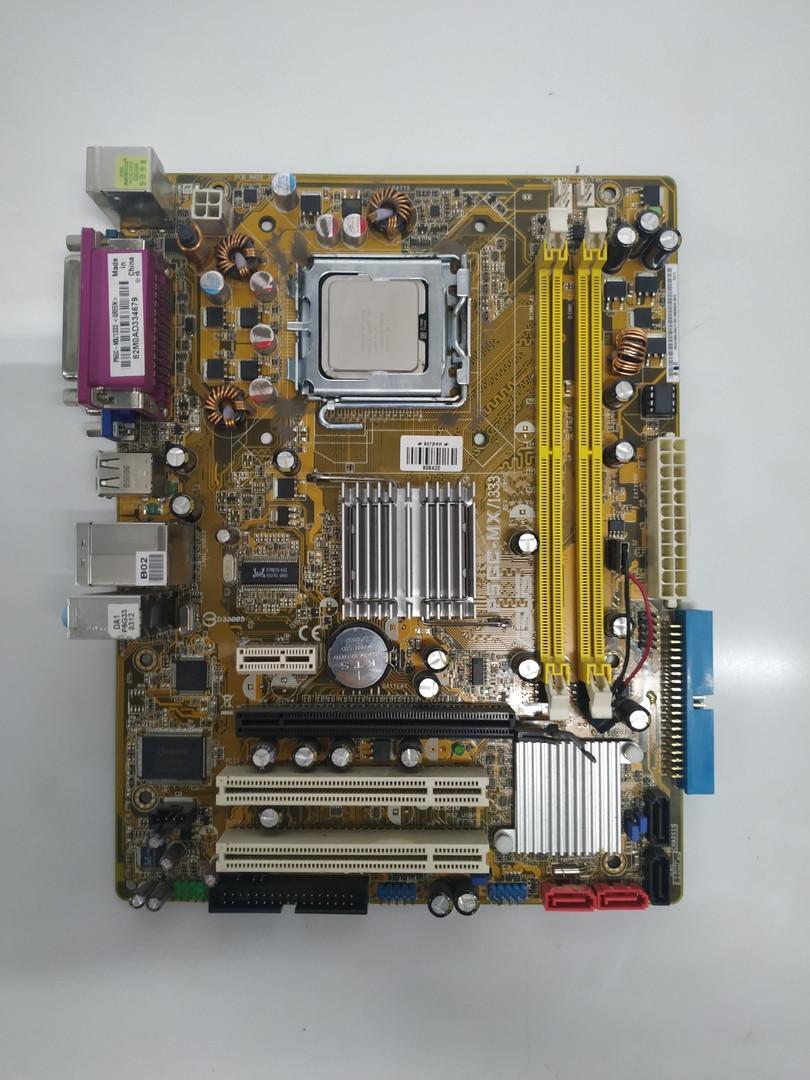 Материнская плата Asus P5GC-MX (LGA 775, Intel 945GC / ICH7, Core 2 Duo E4600)