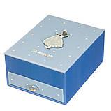 Шкатулка трансформер раскладная для украшений комодик для прикрас 18х14х8 см 8030-010 органайзер, фото 2