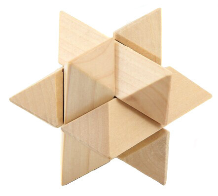 Деревяная игрушка головоломка 2011-105