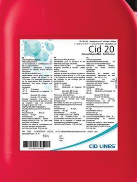 CID 20, 25л