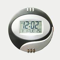 Электронные часы Noisy КК 6870 LED Черный/Серебристый