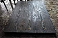 Чорна стільниця для кухні з натурального дерева, фото 1