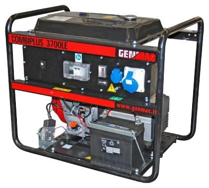 Однофазный дизельный генератор GENMAC Combiplus 3700 LE (3,2 кВт)