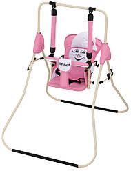 Качель Babyroom Casper  св.розовый-белый