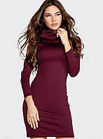 Стильное платье-плотный итальянский трикотаж L XL