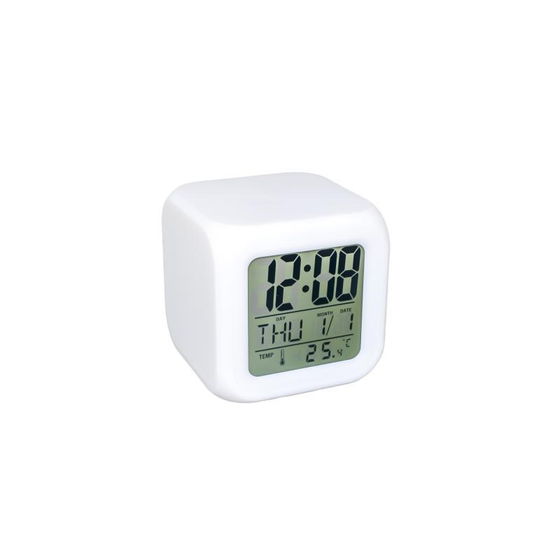 Часы ночник-будильник Хамелеон