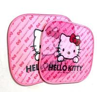 Защитные шторки в автомобиль Hello Kitty 2шт.