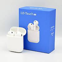 Беспроводные Bluetooth наушники HBQ i10 Touch TWS V5.0 White