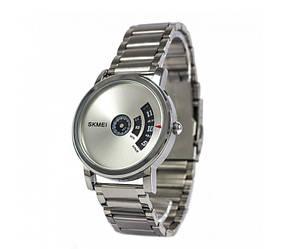 Мужские часы Skmei 1260 оригинальные all silver