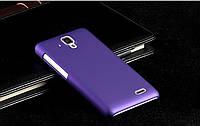 Чехол накладка бампер для Lenovo A536 фиолетовый