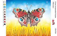 """""""Бабочка"""". СВ - 5108 (А5). Частичная вышивка"""