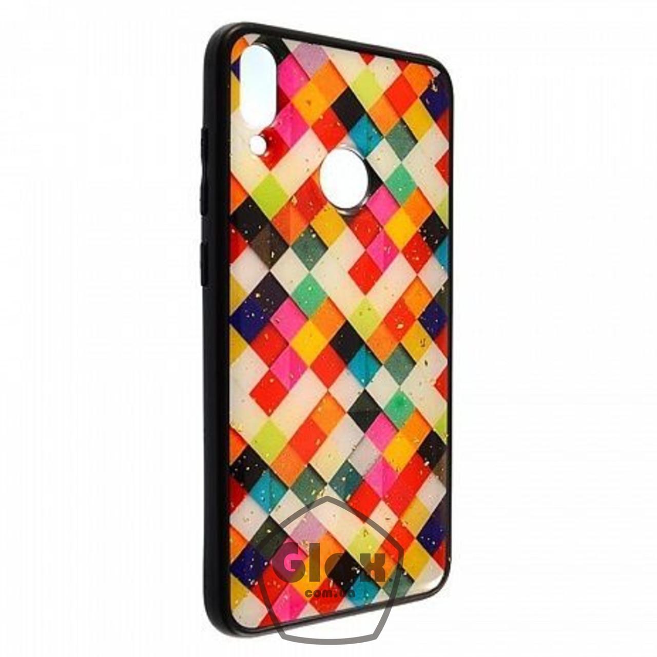 Чехол накладка для Huawei Y7 2019 Pictures Плетение