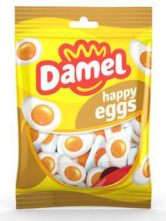 Жуйки Damel 100г Fried Eggs омлет ,5130, 18шт/ящ