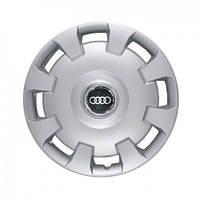 """Колпаки для колес 14"""" c логотипом автомобиля 4 шт (SKS 206) Ауди"""