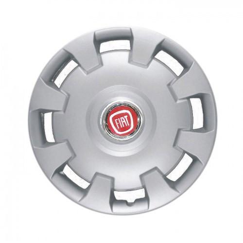 """Колпаки для колес 14"""" c логотипом автомобиля 4 шт (SKS 206) Фиат"""