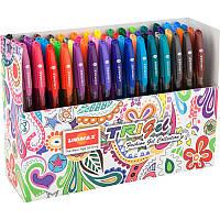 Ручка гелевая Unimax Trigel Mixed набор 60цв (UX-145)
