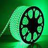 Гирлянда Дюралайт светодиодный шланг, Зеленый, круглый, 10м., фото 3