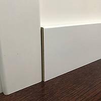 """Плінтус МДФ фарбований білий 100х16 мм """"Модерн"""", фото 1"""