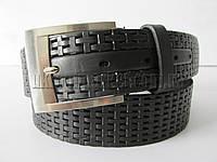 """Ремень мужской джинсовый шпенек (кожа, 45 мм.)  """"Remen"""" LM-638"""