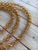 Гирлянда мишура дождик колосок Bonita d10 мм 1,2 м Золото
