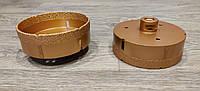 Алмазная коронка вакуумного спекания 125 мм Shdiatool (М14) УШМ
