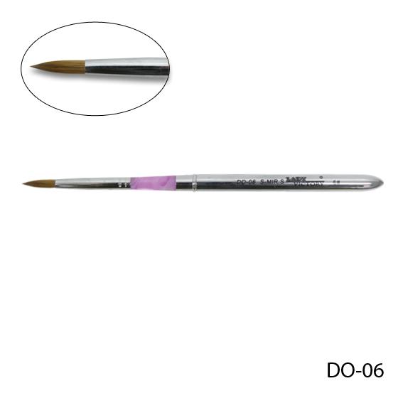 Кисть для акрилового дизайна (соболь) DO-06