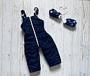 Детский зимний комбинезон 3 в 1 для мальчика, р. 86, фото 4