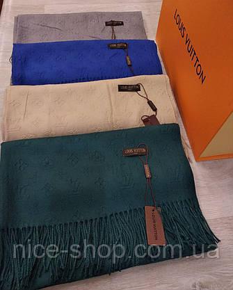 Шарф Louis Vuitton кашемир, фото 3