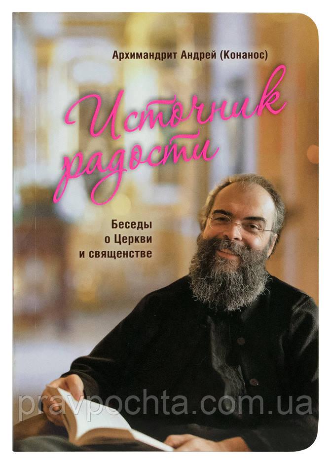 Источник радости. Беседы о Церкви и священстве. Архимандрит Андрей (Конанос)