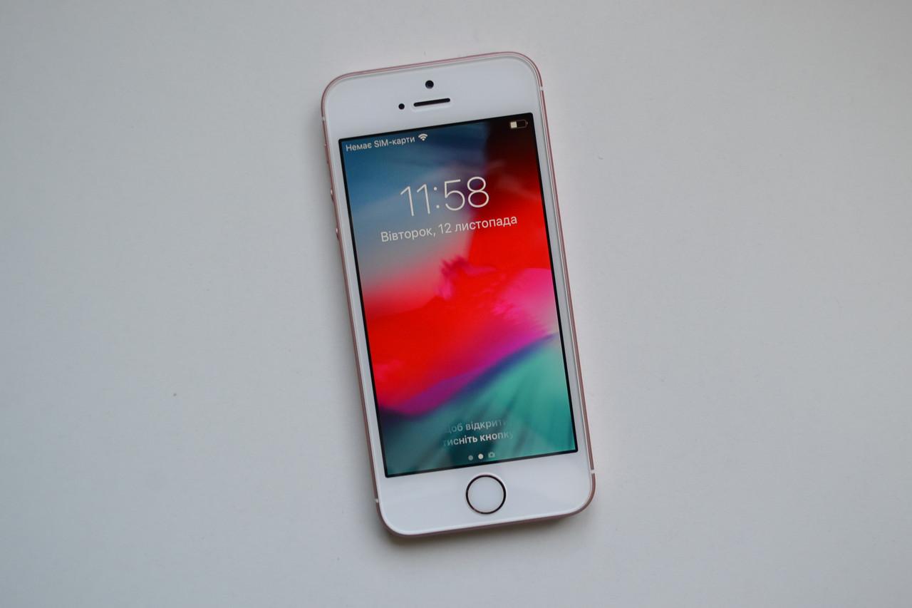 Apple Iphone SE 32Gb Rose Gold Neverlock Оригинал!