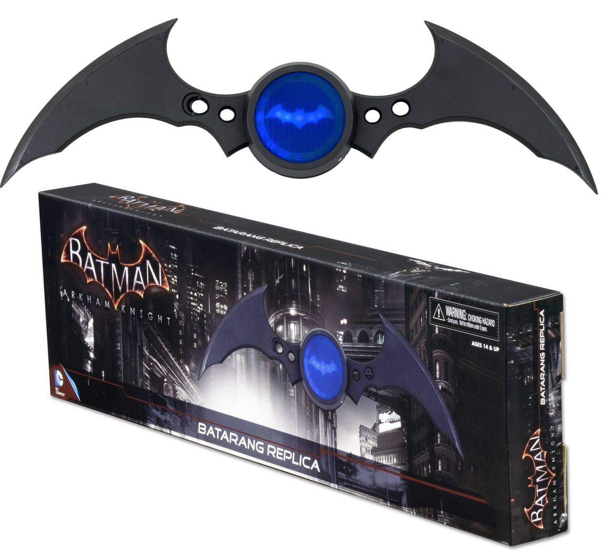 """Электронный бэтаранг оружие Бэтмена - Batman, DC Comics, """"Arkham Knight"""", Batarang Replica, Neca"""