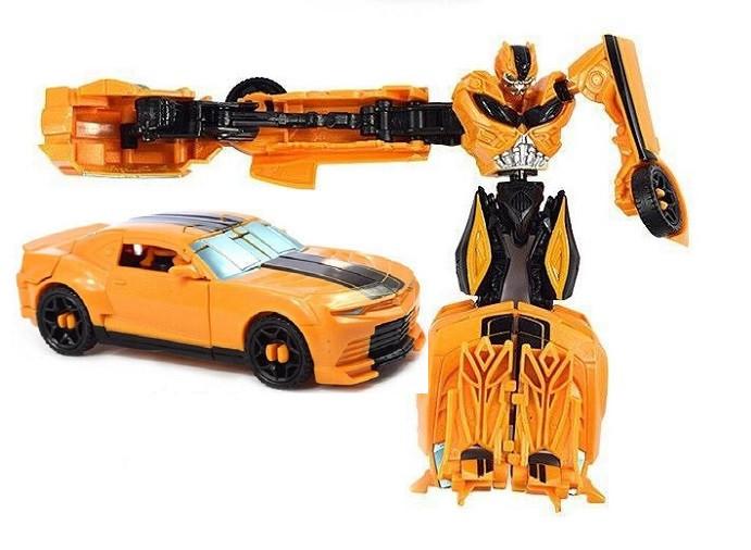 Трансформер Бамблби - Bumblebee, TF4, Power Attacker, Hasbro