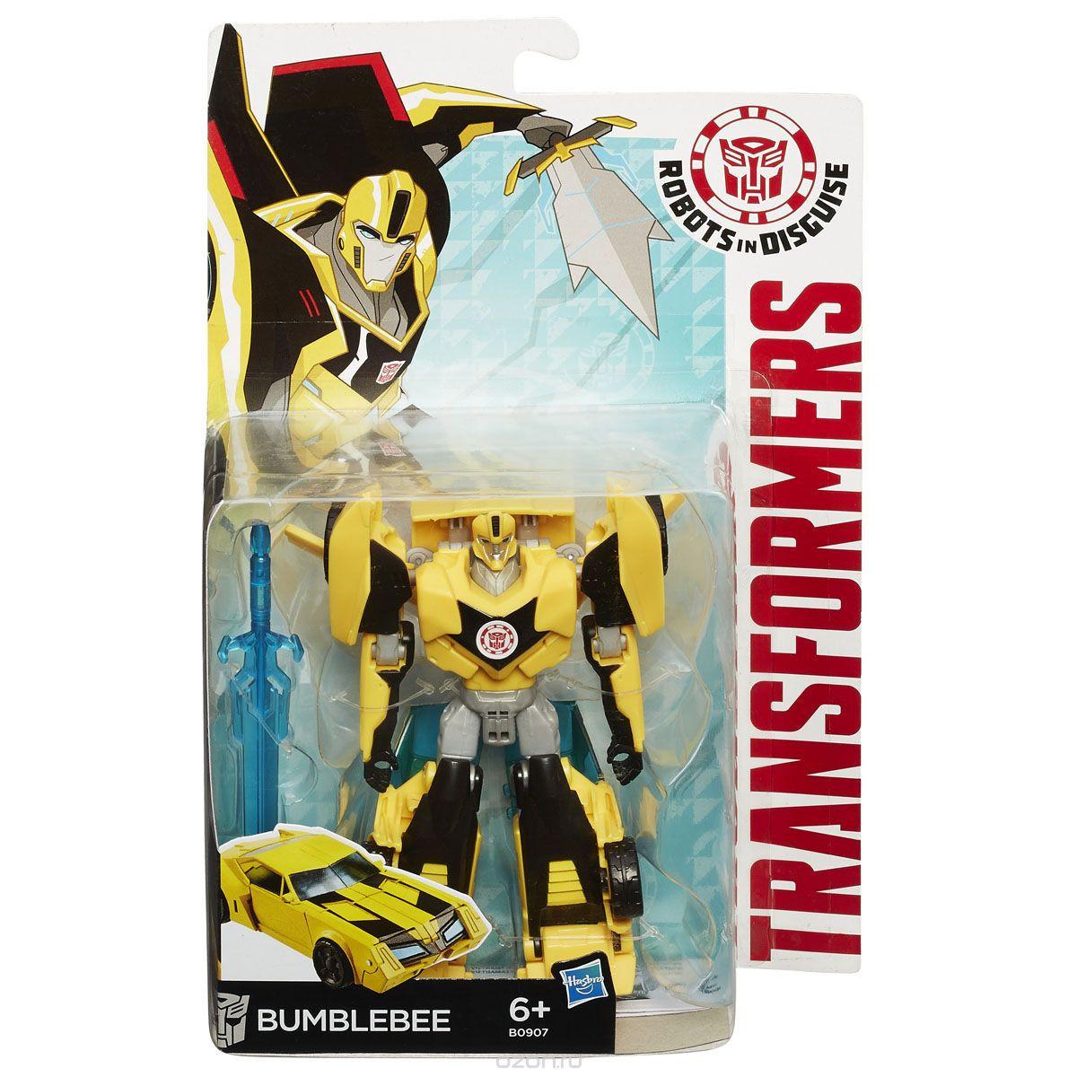 """Бамблби 14 СМ, серия """"Воины"""" Роботы под прикрытием - Bumblebee, Warriors, RID, Hasbro"""