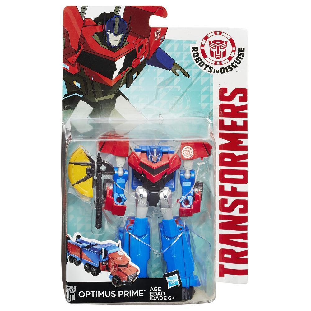 """Оптимус Прайм 14 СМ, серия """"Воины"""" Роботы под прикрытием - Optimus Prime, Warriors, RID, Hasbro, фото 1"""