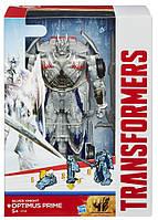 "Оптимус Прайм ""Серебряный Рыцарь"" Флип энд чэндж - Optimus Prime SK, TF4, Flip&Change, Hasbro, фото 1"