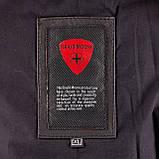 Летная куртка MYTHIC black кожаная, фото 10