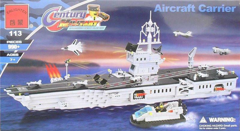 Детский Конструктор BRICK 113 корабль