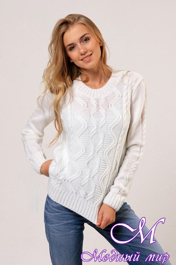 Жіночий в'язаний светр (ун. 44-48) арт. К-13-127