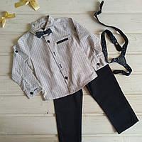 ✅Костюм для мальчика рубашка и брюки Костюм нарядный для мальчика штаны и рубашка 122
