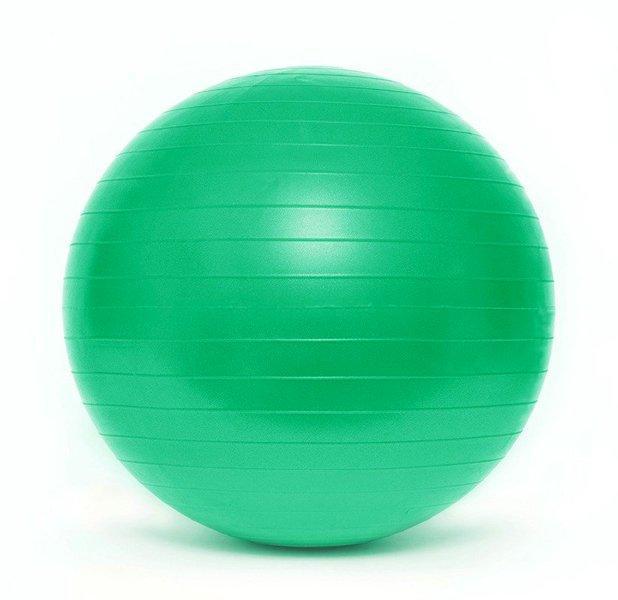 Мяч гимнастический 75см + насос SMJ Anti-Burst
