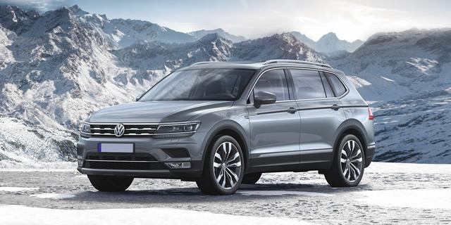 Tiguan II USA Long