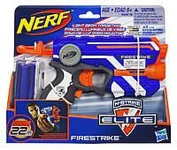 Мощный пистолет Нерф с лазерным прицелом - Firestrike, N-Strike Elite, Nerf, Hasbro, фото 1