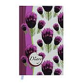 Ежедневник недатированный Celine А6 144 л, вишневый